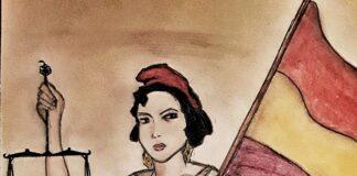 """""""Homenaje a la República"""" Ilustración de Sandra Martínez García"""
