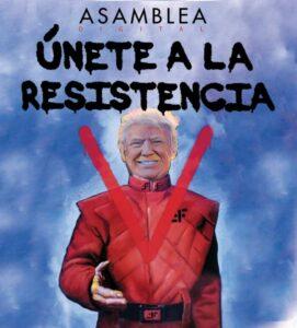 """""""Únete a las resistencia"""" de Ismael Millán"""